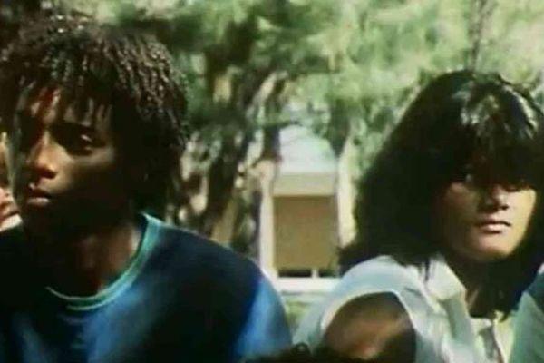 Jeunes lycéens de Saint-Denis de La Réunion, en 1984