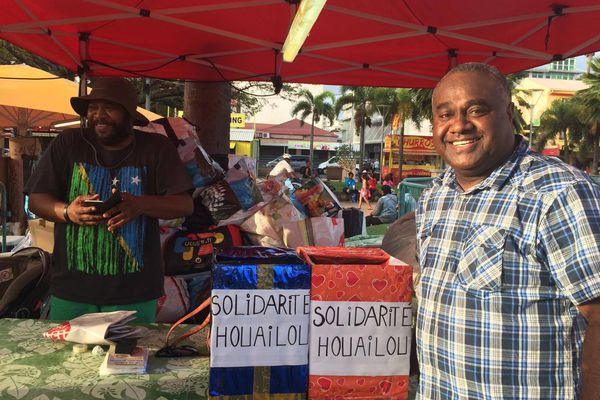 Nouméa : collecte spontanée de dons financiers