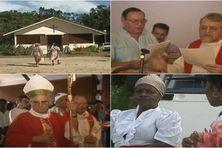 Le premier pèlerinage de Pentecôte à la chapelle de Stoupan en 1990.