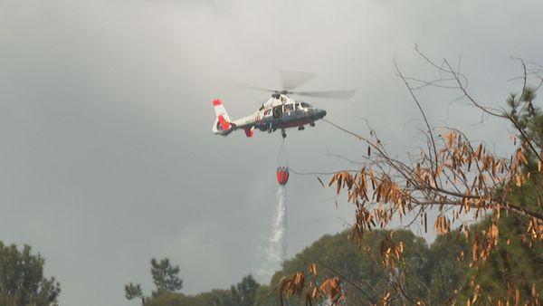 Punaauia : un incendie ravage les hauteurs de Miri