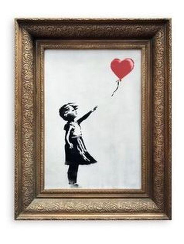 """""""Girl with balloon"""" de Banksy"""