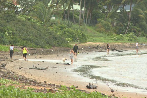 Réouverture plage de Cayenne