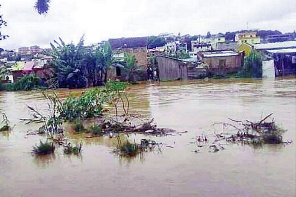 Inondation à Madagascar février 2021