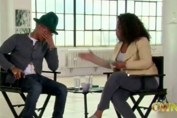 Pharell williams et Oprah Winfrey