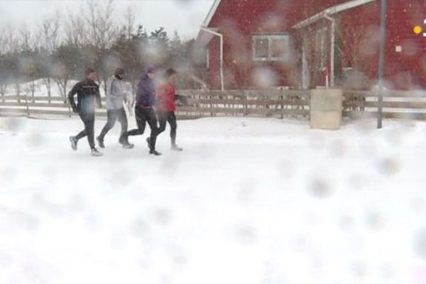La Foulée des Iles s'entraîne même sous la neige