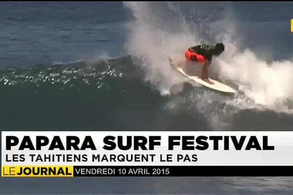Papara surf festival : les tahitiens marquent le pas