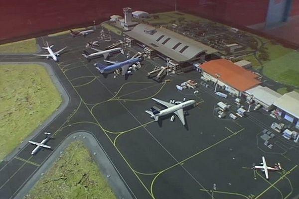 Aéroport de Gillot : Travaux sur les pistes