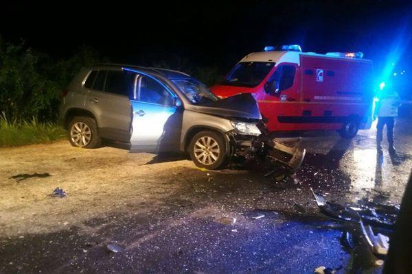 accident à Beausoleil