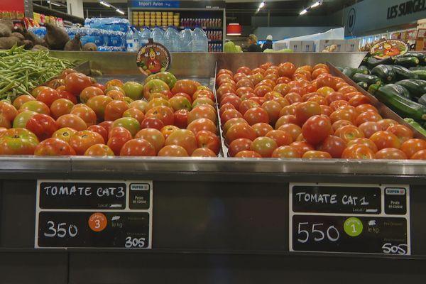classification des légumes