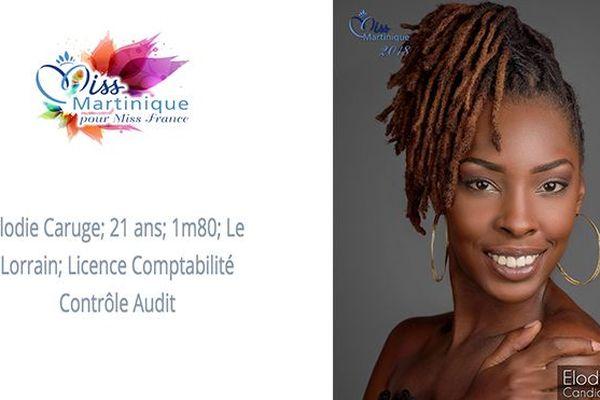 Miss 2 Elodie Caruge