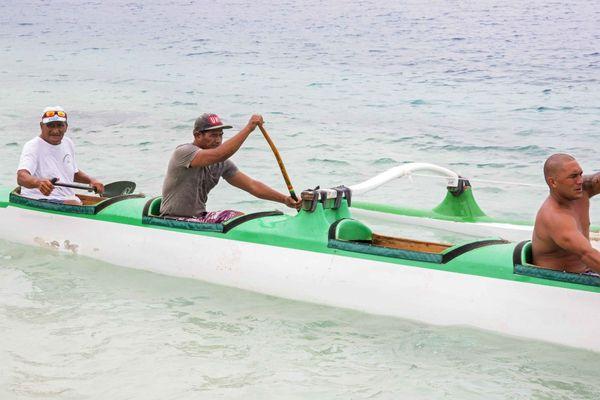 Tavi Pirifonia est le doyen de cette Hawaiki Nui 2015