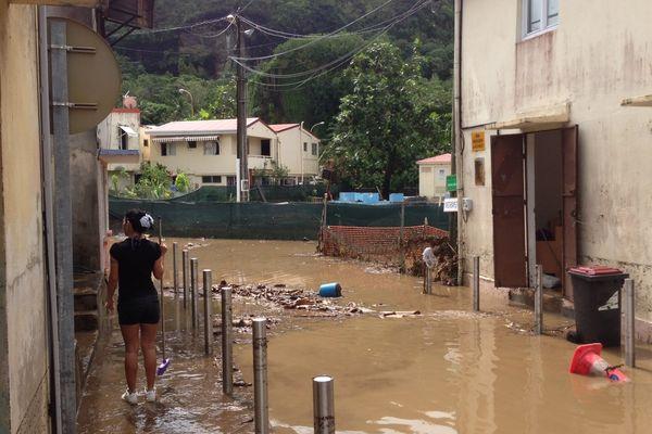La plupart des maisons inondées