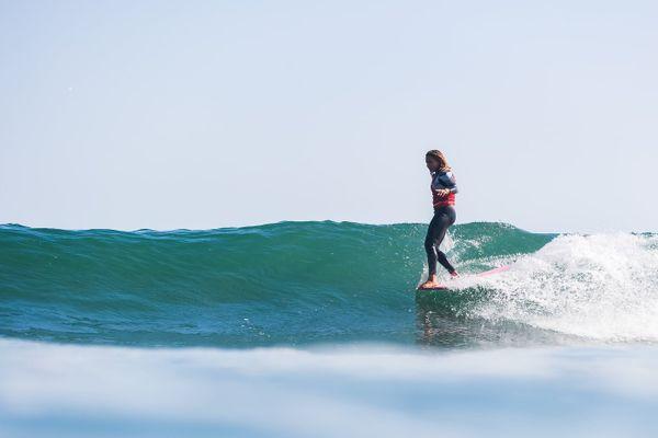 surf Alice Lemoigne vice-championne du monde de longboard WSL 131021