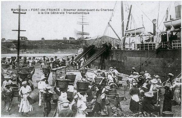 Martinique années 1900