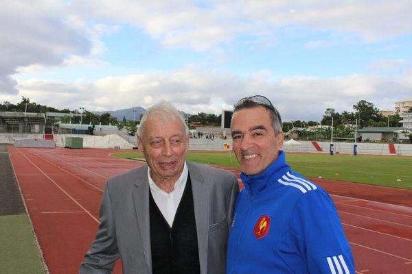 Jean Jalabert aux côtés de Bruno Salvai
