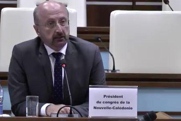 Gaël Yanno présidera le Congrès pour la seconde fois