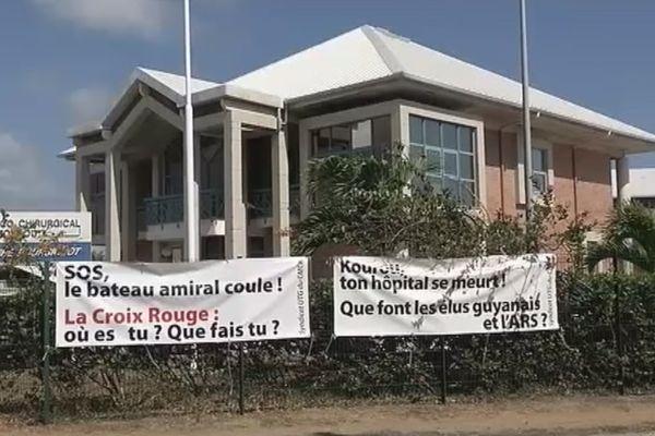 CMCK, l'ôpital de Kourou en difficulté