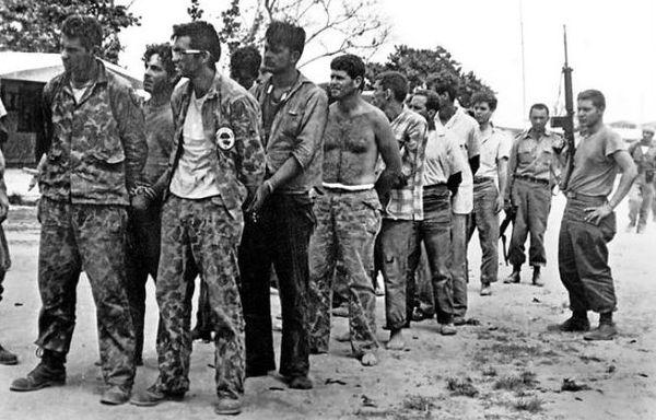 L'arrestation des exilés cubains