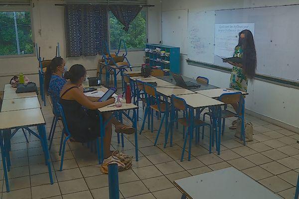 Collège Pomare 4 : oral blanc du DNB en guise de répétition