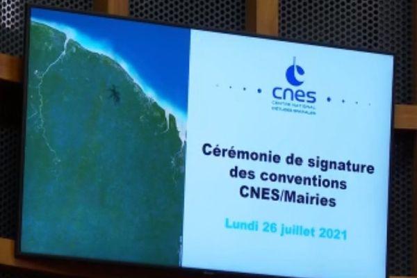 Convention CNES/Mairies de Guyane