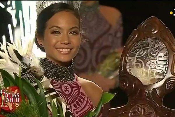Vaimalama Chaves est Miss Tahiti 2018 !