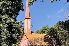 La petite chapelle épiscopale de l'évêché de Papeete.