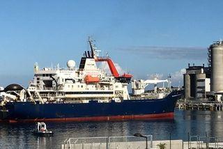 Marion-Dufresne arrive au Port