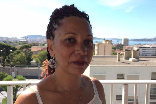 Sylvie Arcos sur les hauteurs de Toulon