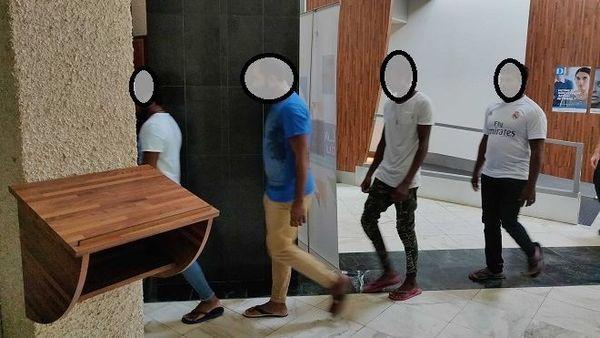 7 migrants sri lankais devant le JLD