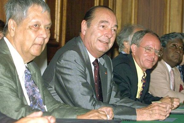 Verges et chirac en 1999
