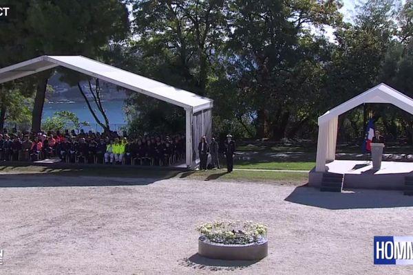 Cérémonie d'hommage aux victimes de Nice