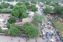 Croix-des-bouquets, le quartier où les sept religieux ont été enlevés dimanche 11 avril 2021.