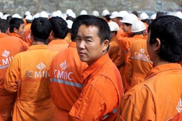main d'oeuvre asiatique Usine du Nord