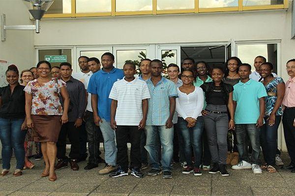 Jeunes à EDF Martinique