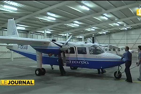 l'avion d'Air Tetiaroa
