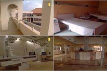 Inauguration du CHAR de Cayenne en 1992.