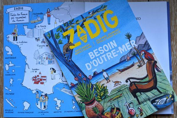 """Le numéro 6 de la revue trimestrielle """"Zadig"""", été 2020"""