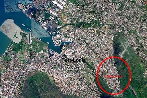 Vallée-Pitot Port-Louis Ile Maurice Mai 2021