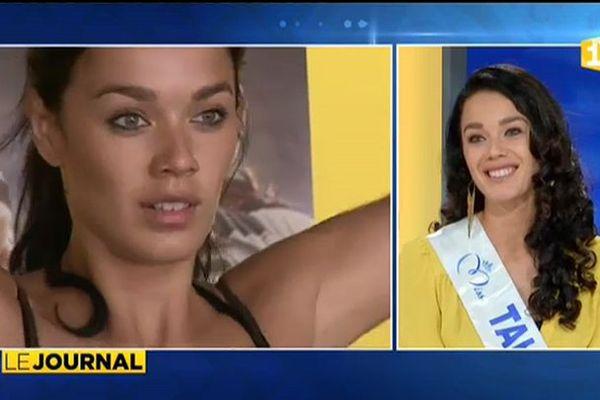Vaea Ferrand en route pour l'aventure Miss France