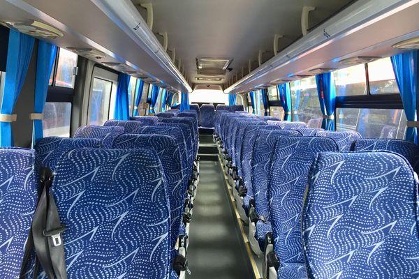 Bus Raï sièges