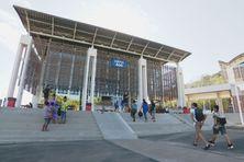 En début d'année 2020, sur le campus de Nouville.