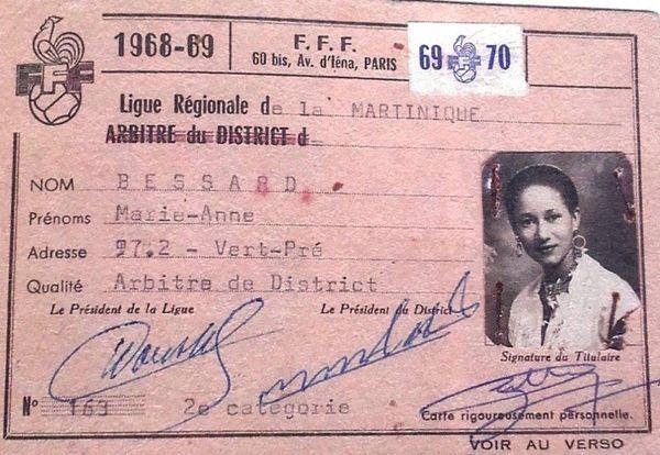 licence Marie-Anne Bessard