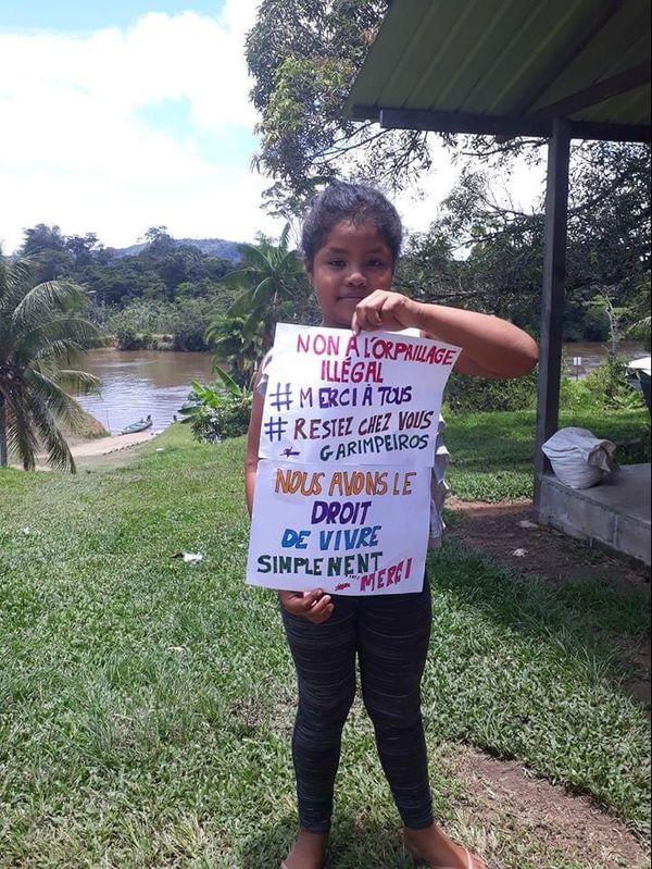 mobilisation dans les villages Wayanas contre les chercheurs d'or