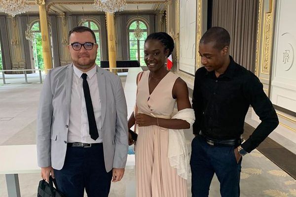Guillaume Robert, Alexia Fundere et Carl S.