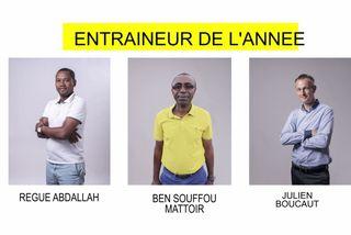 Nominés entraîneur 2018 : Regue Abdallah & Ben Souffou Mattoir & Julien Boucaut