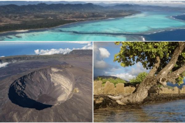 les sites naturels ultramarins classés unesco
