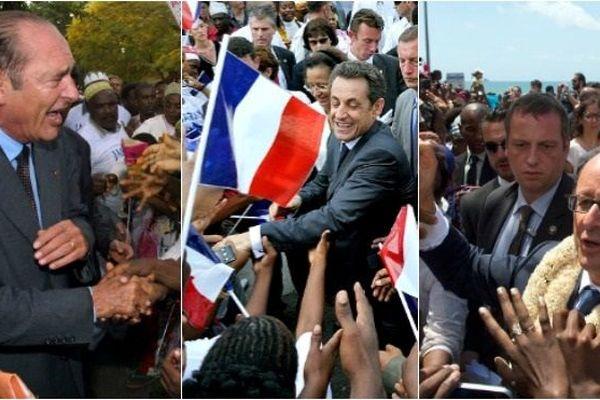 Archives les précédentes visites présidentielles à Mayotte