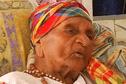 Eudoxie Baboul, la plus agée des gangans de Guyane a 112 ans