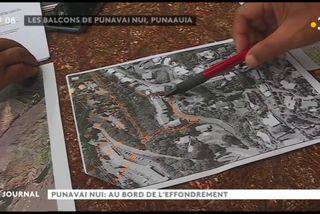 Punavai : les fondations fissurées d'un immeuble inquiète ses occupants