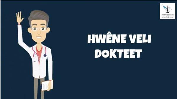 Coronavirus, extrait de vidéo : la marche à suivre en cas de toux ou de fièvre, dans une langue du Nord.